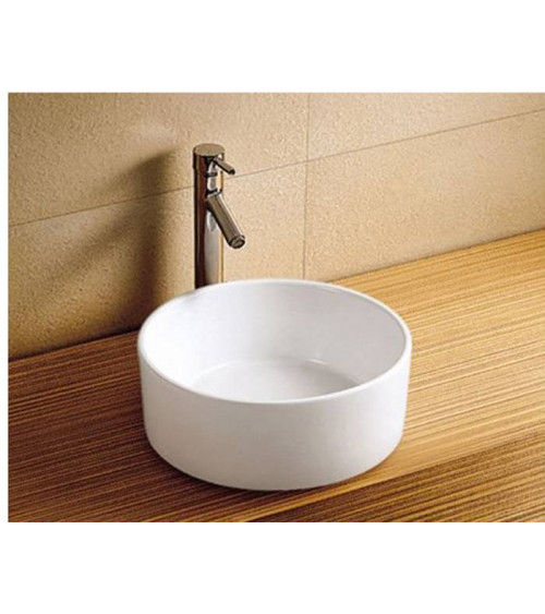 PODROMI freestanding basin - white