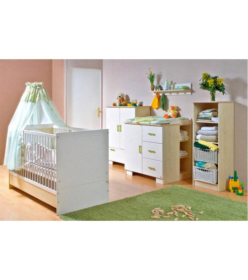Convertible baby cot bed 70*140cm, LILLA