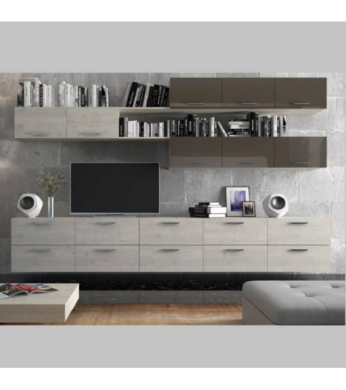 Ensemble meuble TV TORRES 300cm