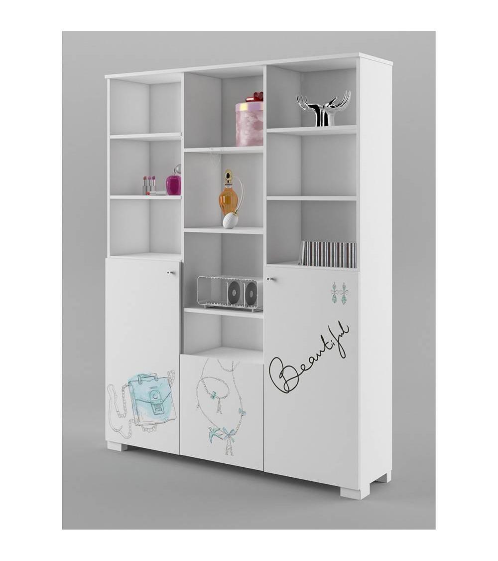 FASHION MINT Bookcase 150 cm