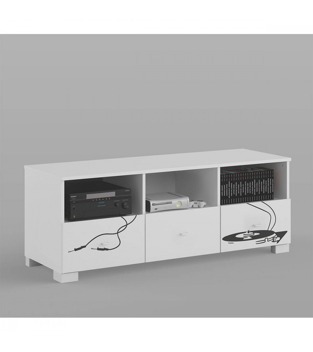 meuble tv music 150 cm azura home design. Black Bedroom Furniture Sets. Home Design Ideas