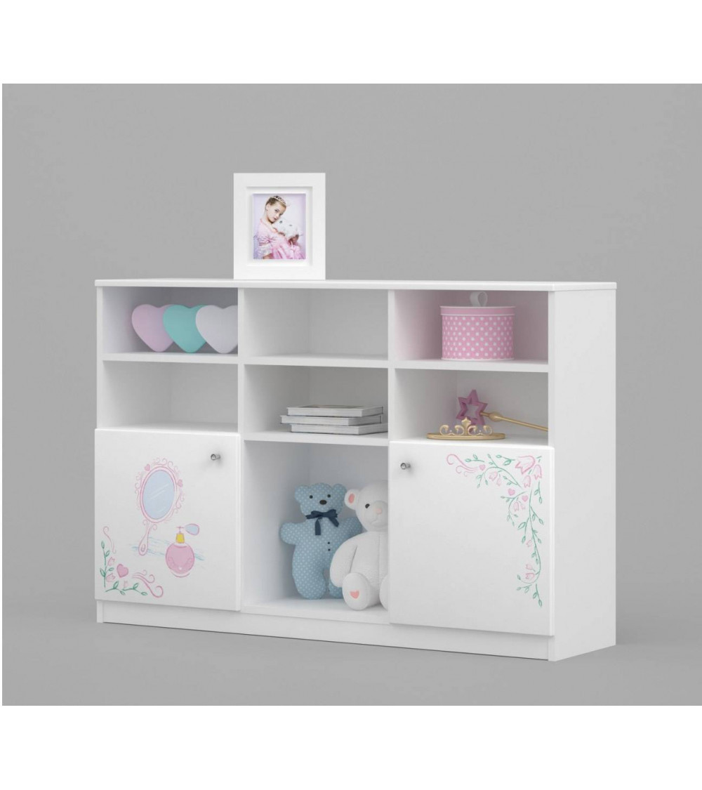 MAGIC PRINCESS Bookcase 135cm