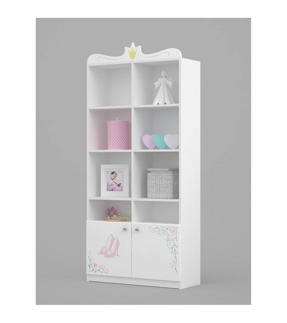 MAGIC PRINCESS Bookcase, 90cm