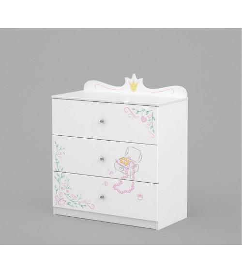 MAGIC PRINCESS Dresser 90cm