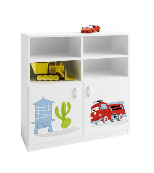 CARS Bookcase 90 cm