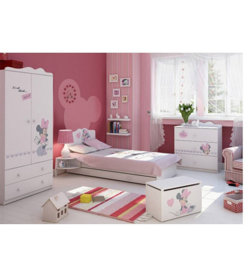 MINNIE MOUSE Single bunk bed