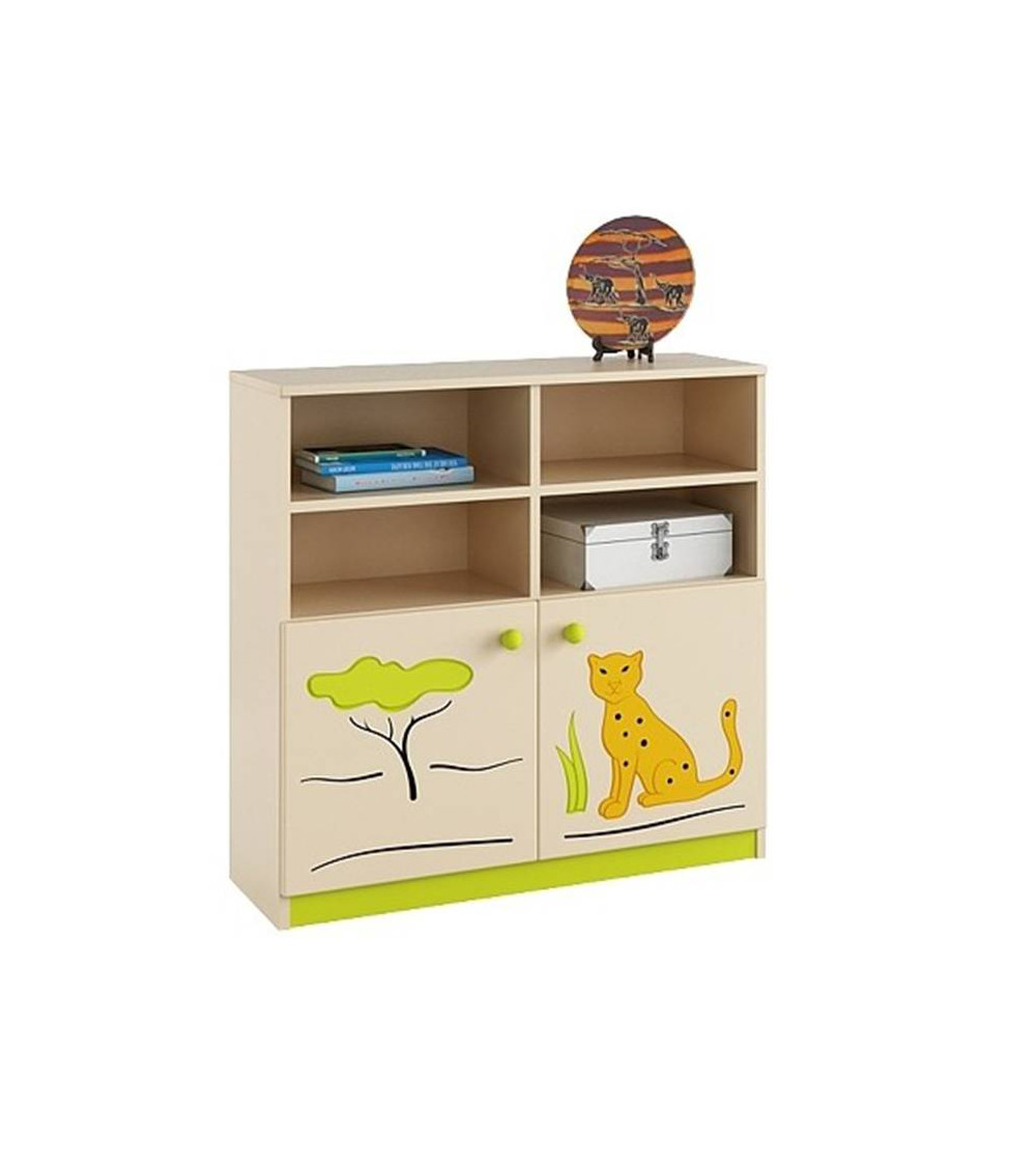 SAVANNAH Bookcase 90 cm, low