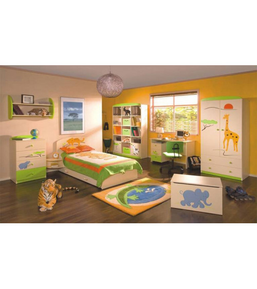 SAVANNAH Single bunk bed