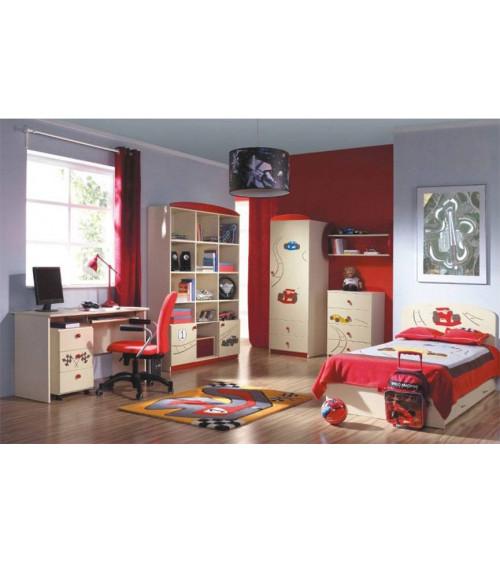 FORMULA 1 Bookcase, 90cm