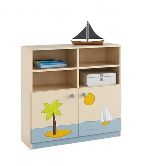VOYAGER Bookcase 90 cm low