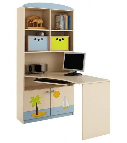 VOYAGER Bookcase-desk Combination