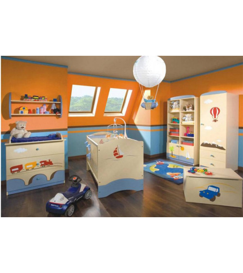 VOYAGER Single bunk bed