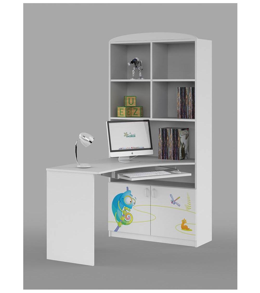 HAPPY ANIMALS Bookcase-desk Combination