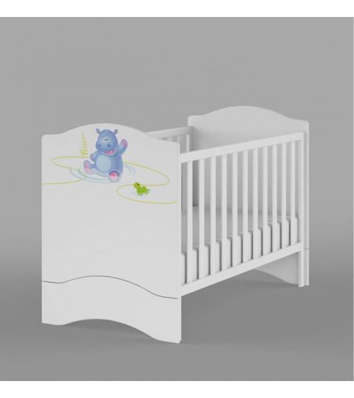 Crib HAPPY ANIMALS 140