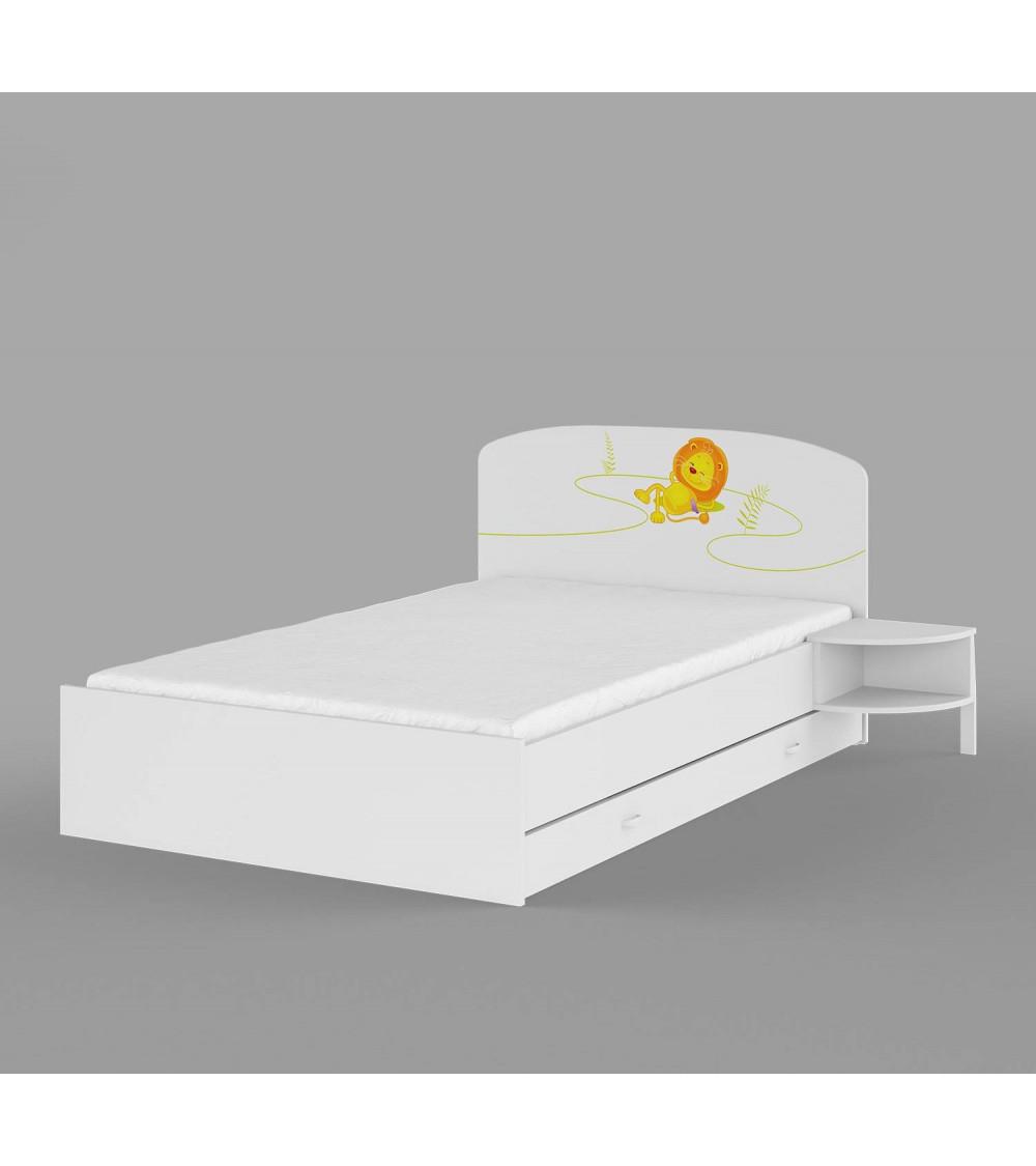 HAPPY ANIMALS bed 120*200cm