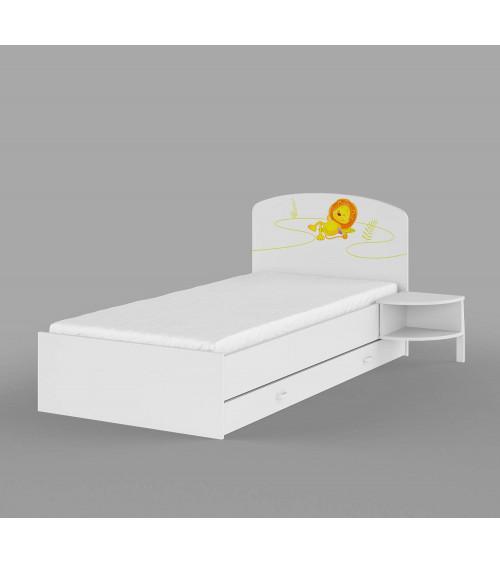 HAPPY ANIMALS Bed 90 x 200