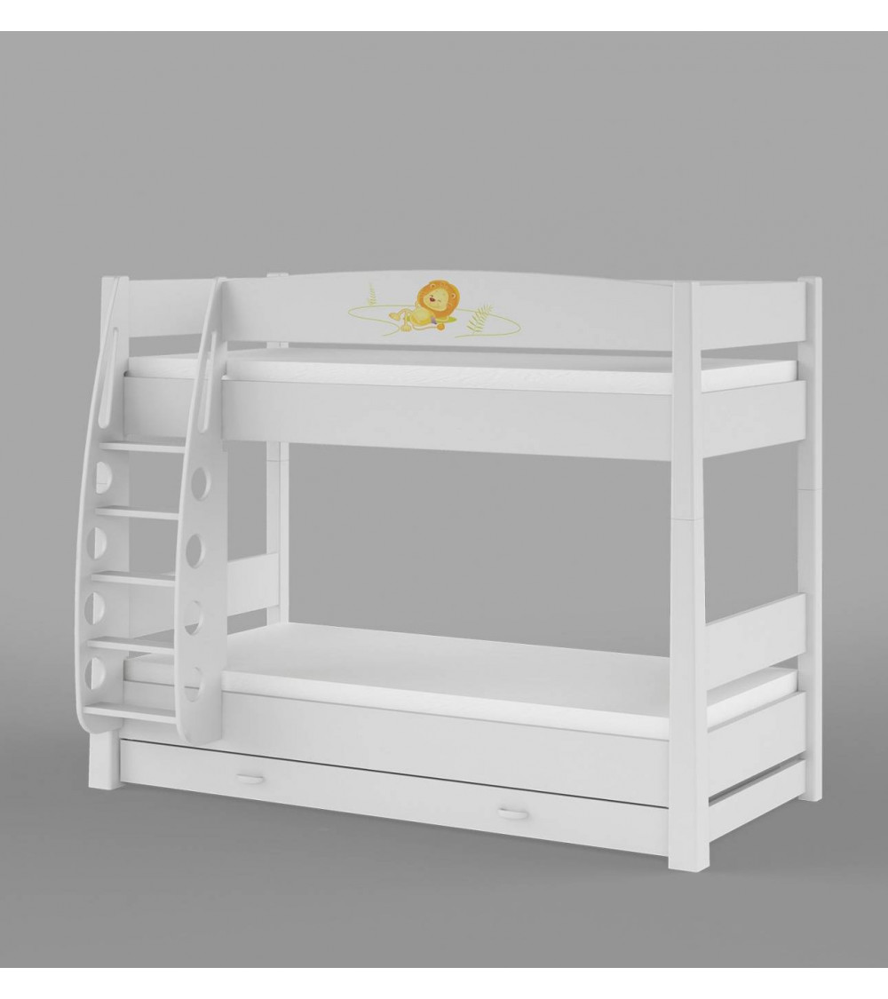 HAPPY ANIMALS Double bunk bed
