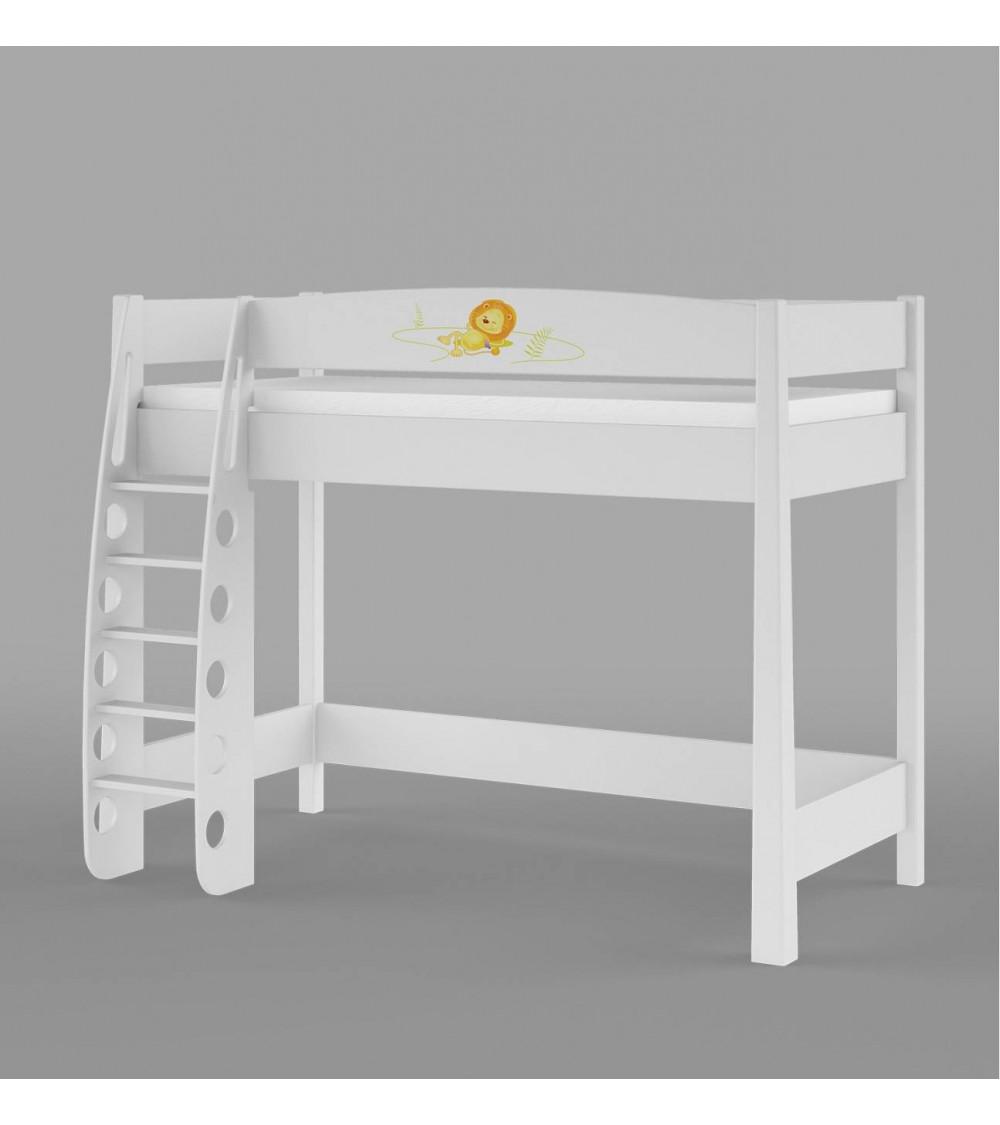 HAPPY ANIMALS Single bunk bed