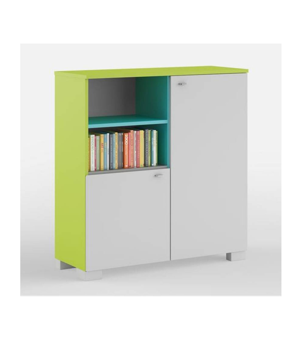 Low Bookcase FRESH 100cm