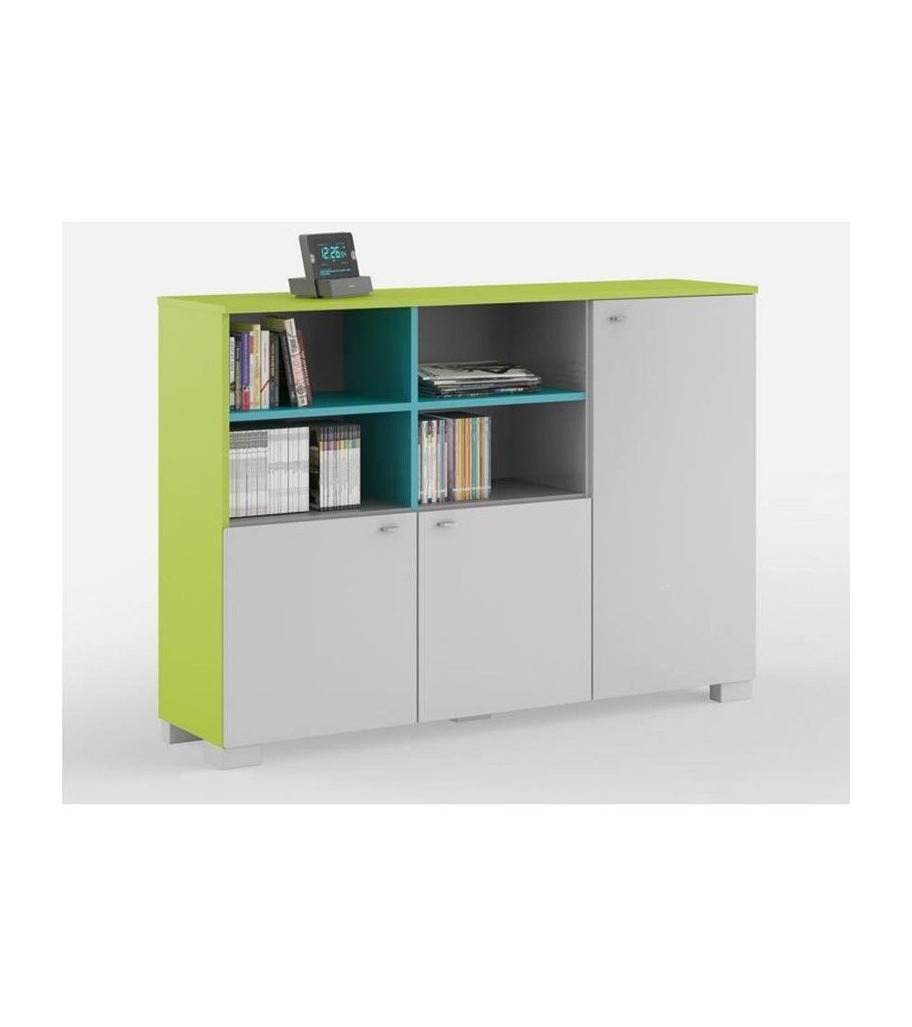 Low Bookcase FRESH 150cm