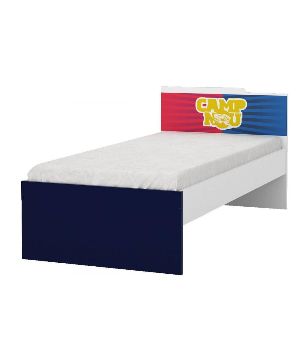 lit fc barcelone 120 cm azura home design. Black Bedroom Furniture Sets. Home Design Ideas