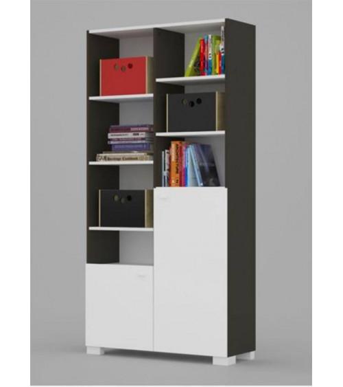 Bookcase UNI DARK 100cm