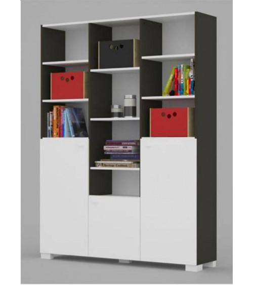 Bookcase UNI DARK 150cm