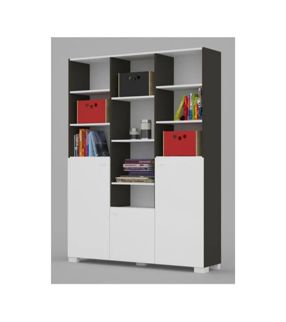 Librería UNI DARK 150 cm