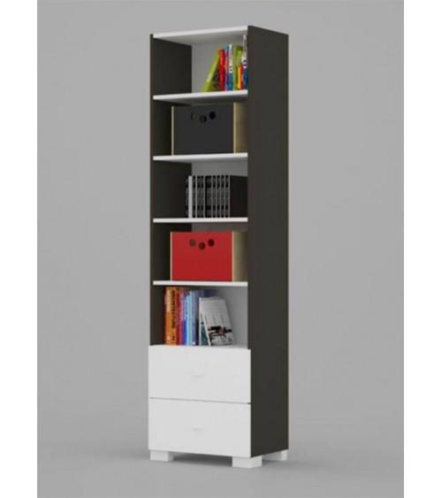 Bookcase UNI DARK 55cm