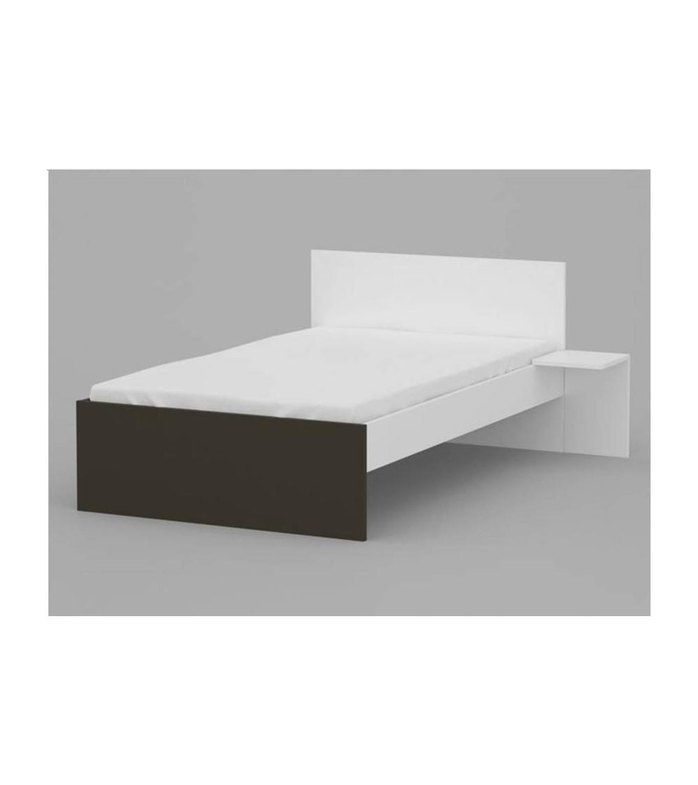 UNI DARK  Bed 120*190cm