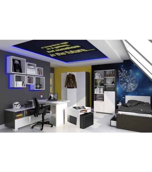 UNI DARK  Bed 90*190cm