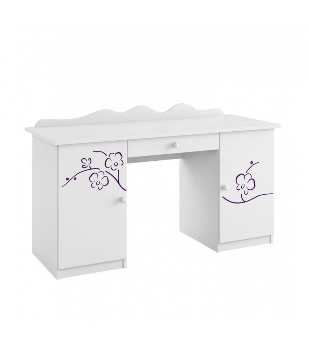 ORCHID VIOLET Desk, 145cm
