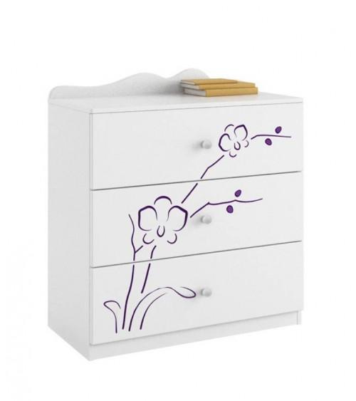 ORCHID VIOLET Dresser, 90cm