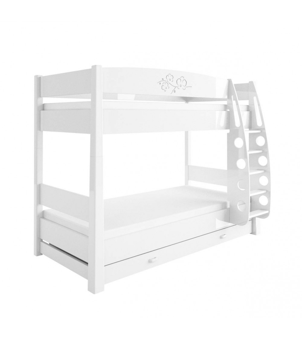 ORCHID VIOLET Double bunk bed