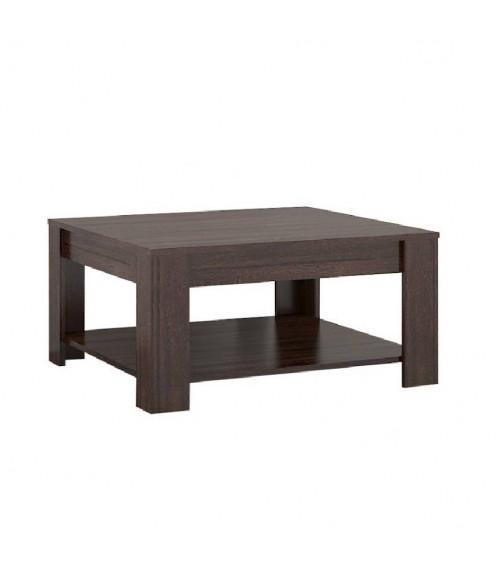 Table basse LISA 80cm chocolat