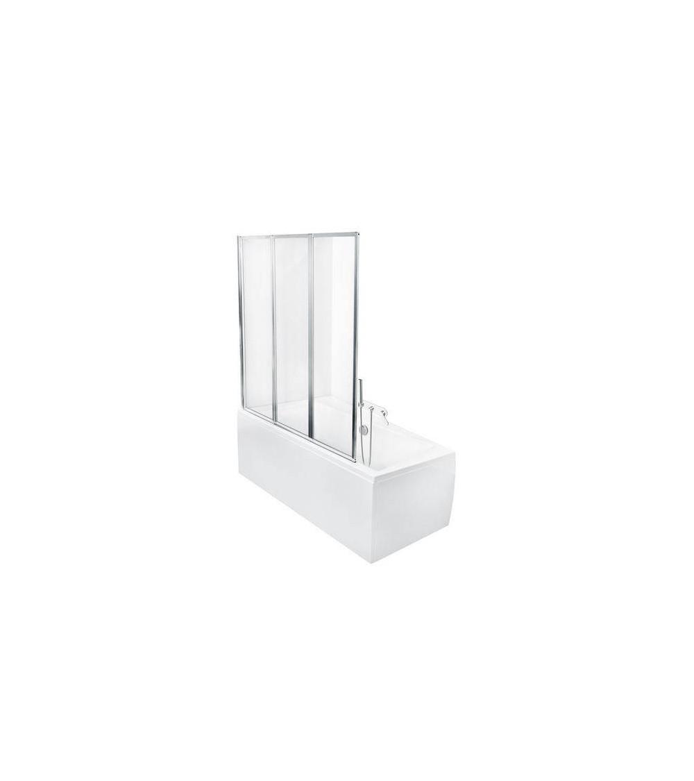 pare baignoire catrix ii 3volets pare baignoire salle de bain d coration salle de bain. Black Bedroom Furniture Sets. Home Design Ideas
