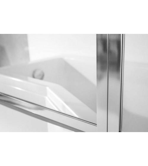 CATRIX II bath screen, 140 x 130 cm