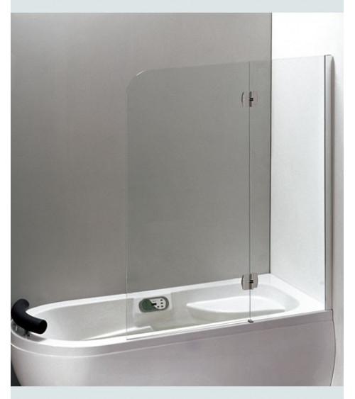 pare baignoire kirumo 120 150 cm meuble salle de bain. Black Bedroom Furniture Sets. Home Design Ideas