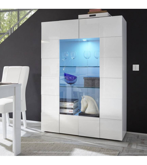 DAMA showcase 121cm WHITE