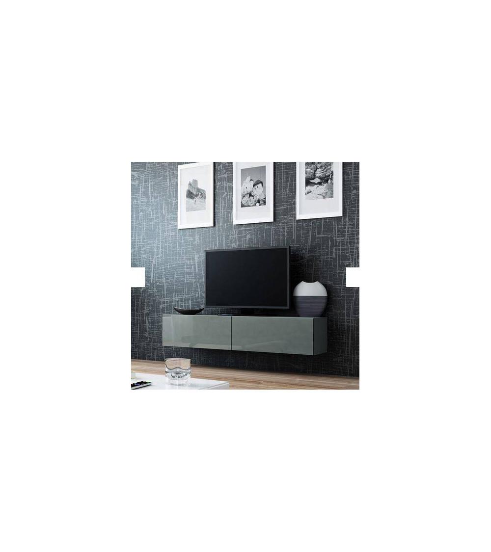 Meuble TV VIGO 140, GRIS