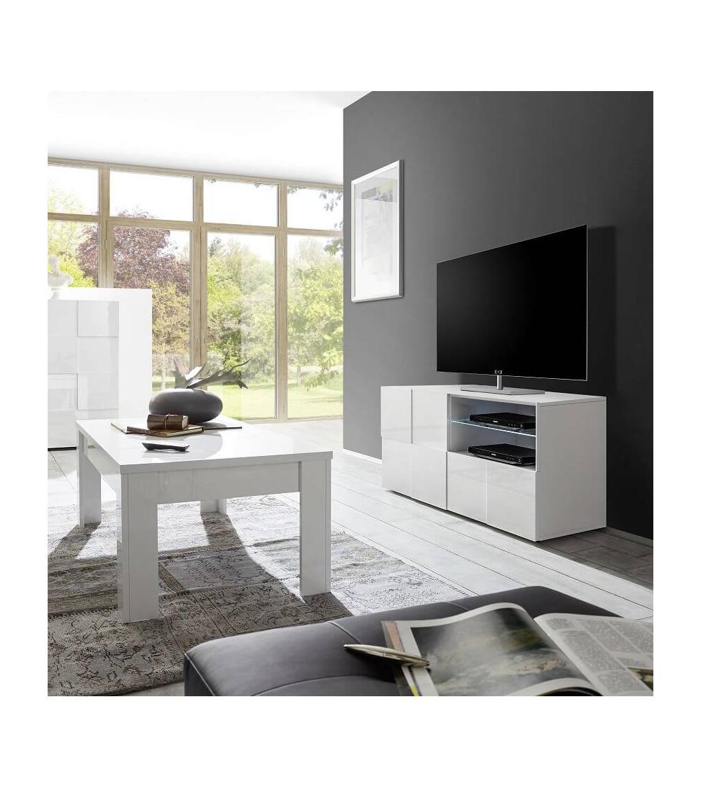dama white 121cm tv storage. Black Bedroom Furniture Sets. Home Design Ideas