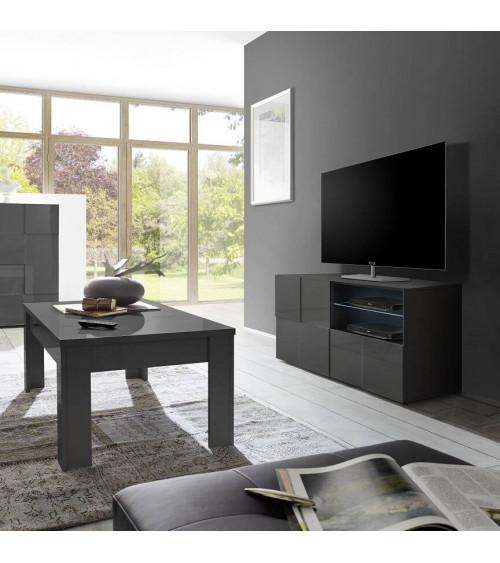Meuble TV DAMA GRIS 121cm