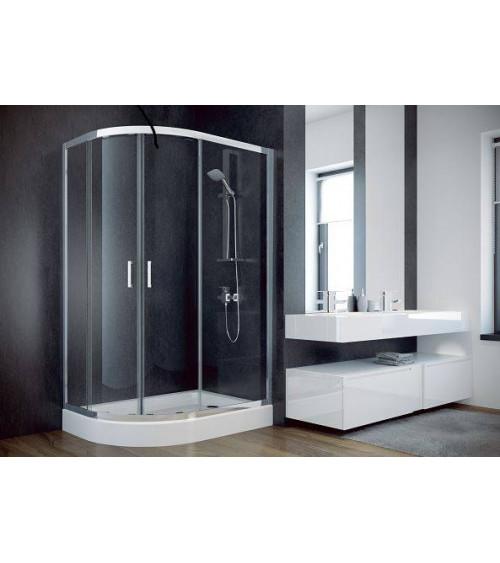 NISA II shower enclosure 120*90*185 cm