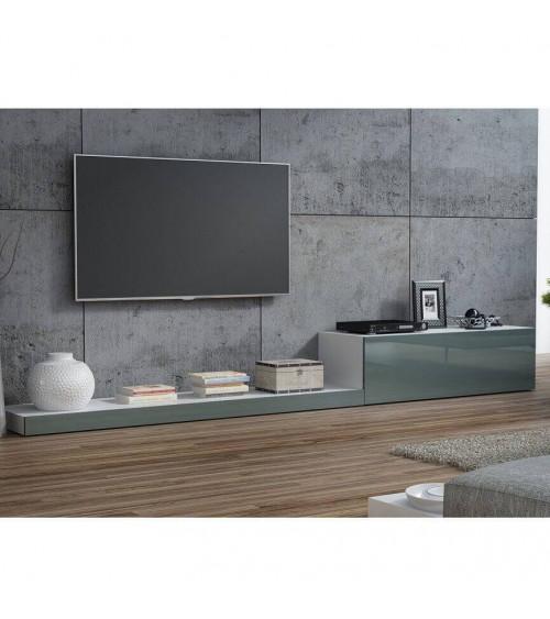 Meuble TV LIFE II 300cm gris