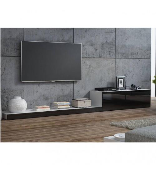 Meuble  TV LIFE II 300cm noir