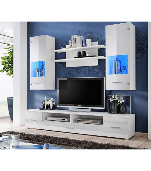 Ensemble meuble TV CORTE II Blanc