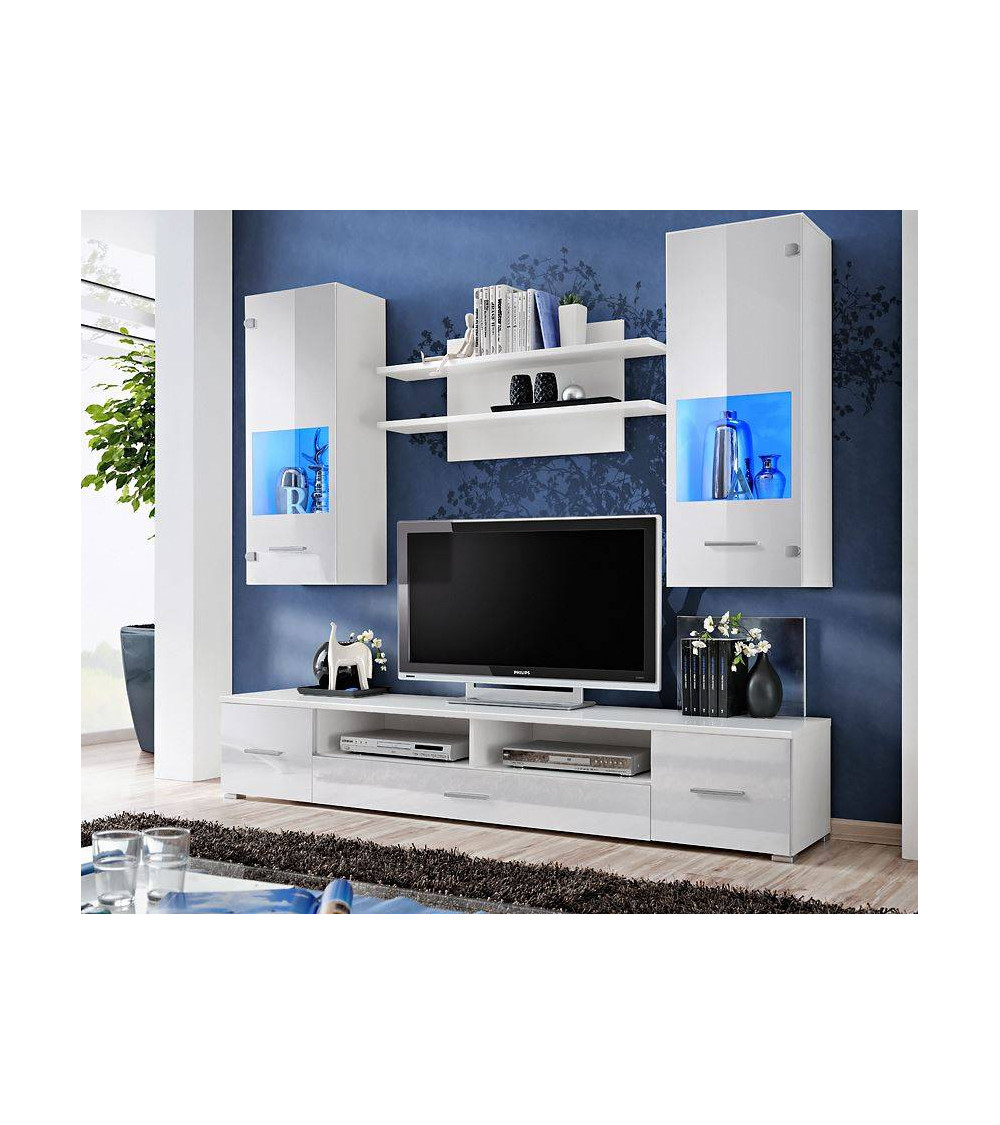 CORTE TV Storage combination, white