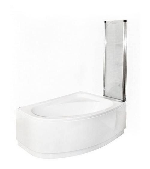 Baignoire MARY 160/170 cm avec pare baignoire
