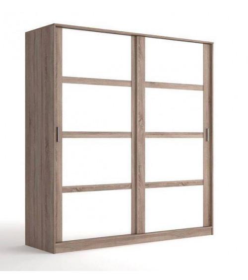 Armoire LIVA chêne clair 200 x 210 x 65 cm