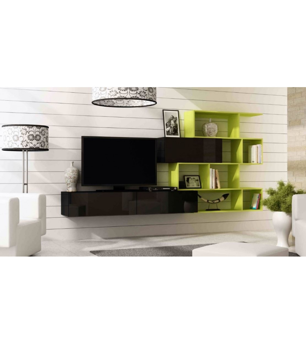 Ensemble TV VIGO BOX 180 Noir et vert